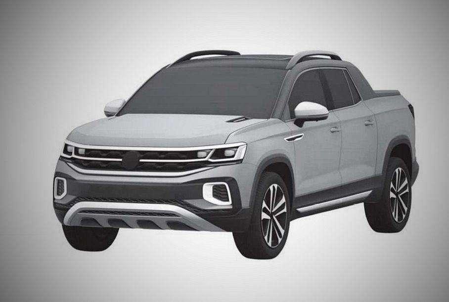 Новинка             Новый пикап Volkswagen нестандартный дизайн и начинка от Tiguan