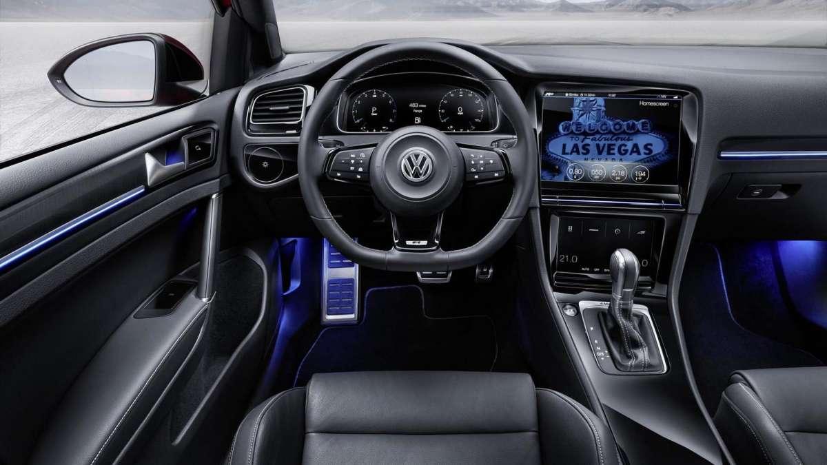VW  привезет наавтосалон вЖеневу новый Golf GTI
