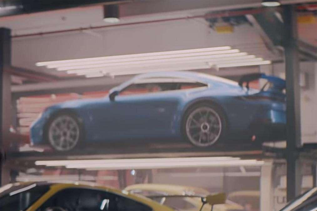 Самый экстремальный Porsche впервые показали на видео
