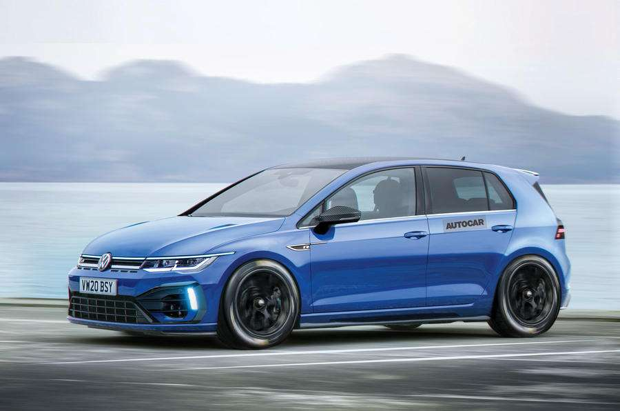 VW  назвал дату премьеры Golf GTI иGolf R