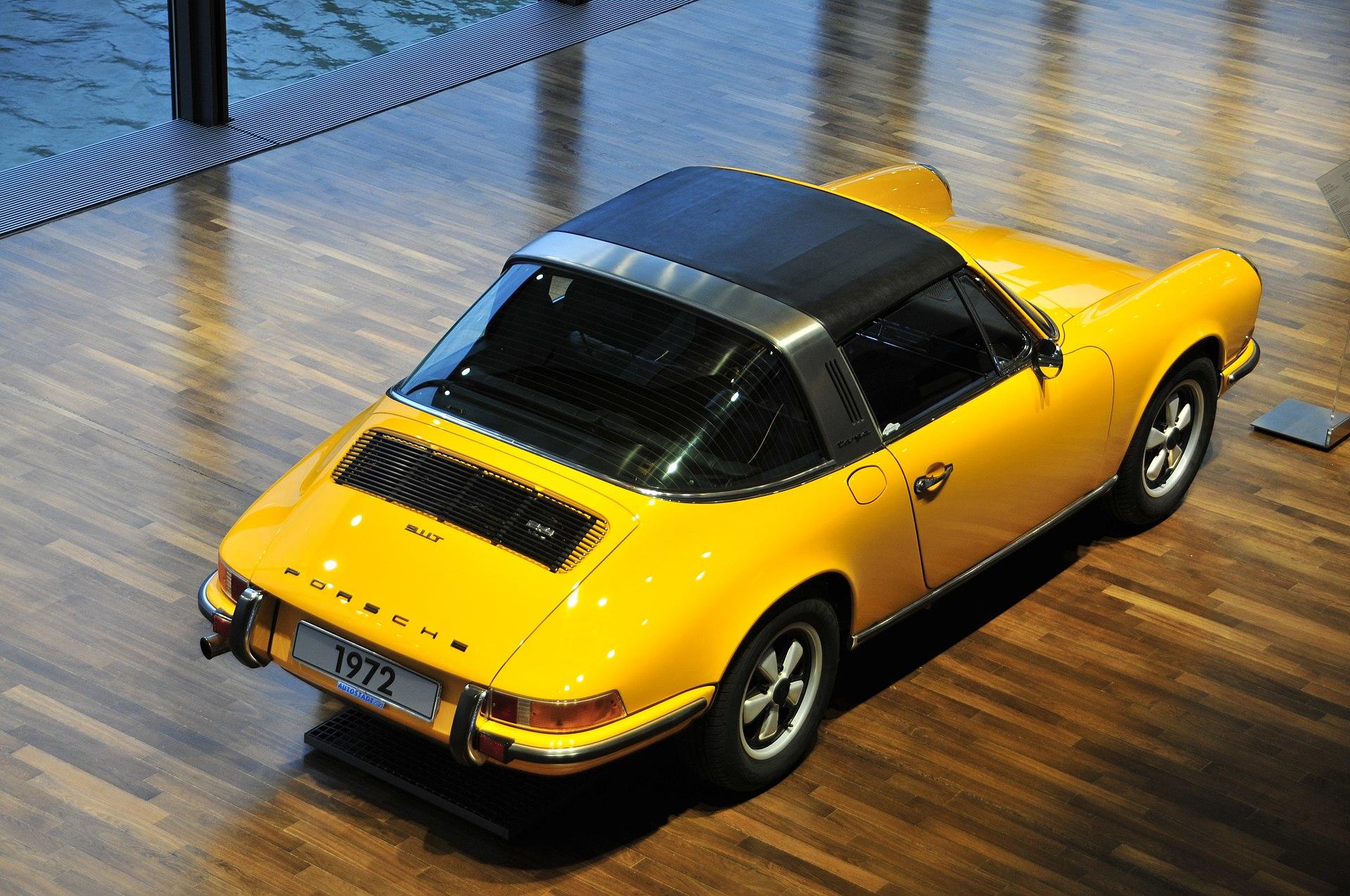 Porsche 911 Targa, 1972