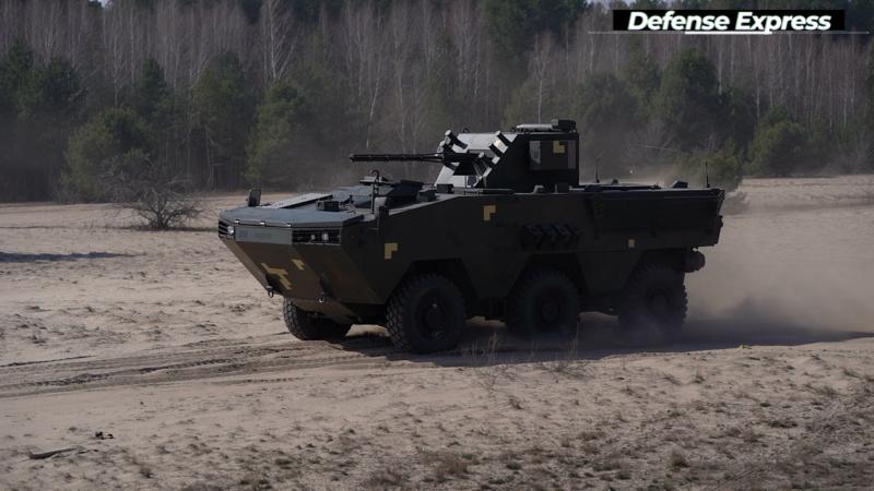 200323 otaman 4 - Новый украинский БТР Атаман 3 прошел ходовые испытания